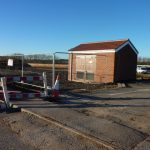 Photograph of new substation