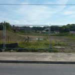Photograph of developing site