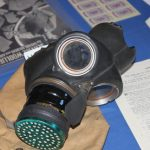 Photograph of a gas mask