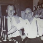 Photo of men at bar 1950's