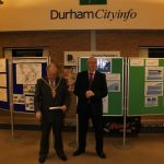 Photograph of ceremony speech from County council Chairman