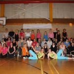 Photograph of Zumba participants second pose