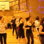 Photograph of zumba in action