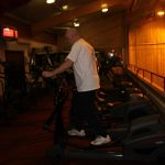 Photograph of man in gym at active Life Centre