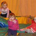 Photograph of children playing and having a great time