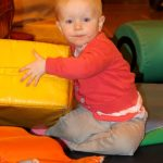 Photograph of child playing