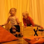 Photograph of children playing and having a wonderful time