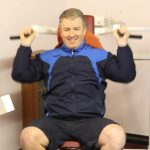 Photograph of man working out at active Life Centre