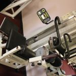 Photograph of angled weights machine at active Life Centre