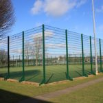 Photograph of outside all weather pitch frnce