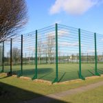 Photograph of outside all weather pitch and outside fenceline