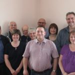 Photograph of a group of Parish Councillors