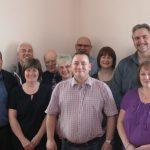 Photograph of a group of Parish Councillors
