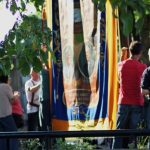 Photograph of banner