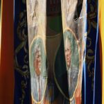 Photograph of banner close up