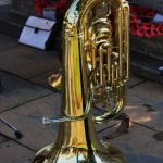 Photograph of french horn in 2014