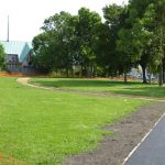 Photograph of soft landscaping at village Green