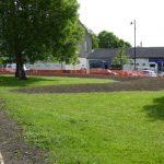 Photograph of village green crescent part of Improvement scheme