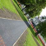 Photograph of footpath on angle part of Improvement scheme