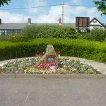 Photo of plantedare inside community centre grounds
