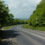 Photo of road up to Quarrington Hill
