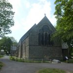 Photo of St Mary's Church in the shade