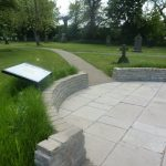 Photo of churchyard improvements