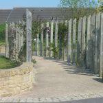 Photograph of sensory garden
