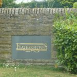 Photo of Featherstone Estate entrance sign