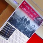 Photograph ofexhibition board in Quarrington Hill Community Centre