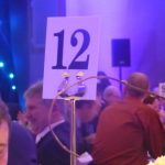 Photograph of Table 12, a winning table