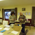 Photograph of participants in planning meeting at Quarrington Hill
