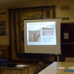 Photograph of presentation at Parish Plan 2 event