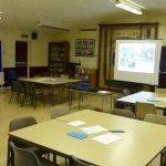 Photograph of planning room at Parish Plan 2 event