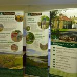 Photograph of Quarrington Hill exhibition