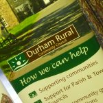 Photograph of Durham Rural Community Partnership exhibition