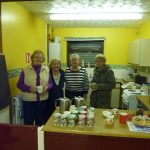 Photograph of catering volunteers at Quarrington Hill Community Centreat C