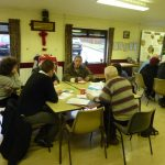 Photograph of people taking part in parish plan 2 work