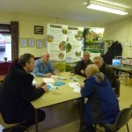 Photograph of people enjoying taking part in parish planning