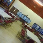 Photograph of exhibitionfor Parish Plan 2 at Coxhoe Village Hall