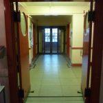 photograph of entrance doors