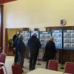 Photograph of Parish Plan 2 exhibition at Coxhoe Village aHall