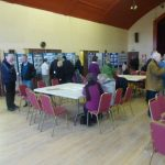 Photograph of people at exhibition for Parish Plan 2 in Coxhoe in 2011