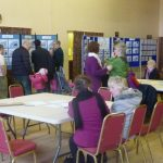 Photograph of parish planning participants at work