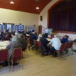 Photofraph of parish planning participants at work putting forward issues