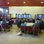 Photograph of Coxhoe parish planning participants at work