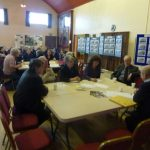 Photograph of parish planning participants at work during the Coxhoe event back in 2011