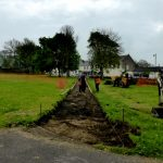 pHOTOGRAPH OF DIGGING OUT OF FOOTPATH