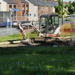 Photograph of digger REDUNDANT