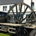 Photograph of pitwheelon the lorry